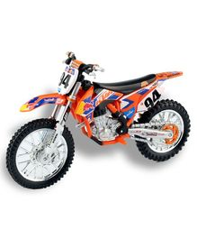 Bburago Die Cast Toy Car KTM 450 SX-F - Multi Color