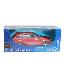 New-ray Die Cast Pull Back Toy Car Audi Q7 Model - Red