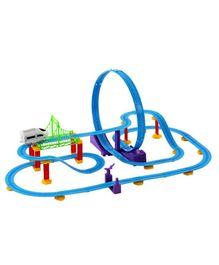 Webby Big Track Racer J1 Train Set - Multicolor