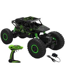 Webby Remote Controlled Rock Crawler Monster Truck - Green
