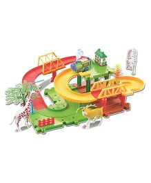 Webby Animals 11 Multilevel Train Set - Multi Color