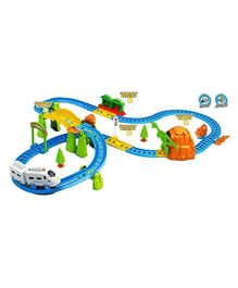 Webby Kids Big Train With Flyover - Multicolor