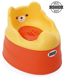 Babyhug Teddy Buddy Potty Chair - Yellow