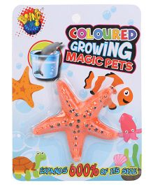 Karma Boing Colored Growing Magic Pet Starfish - Orange