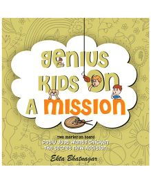 Genius Kids On Mission Story Book - English