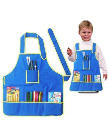 Tipy Tipy Tap Painting And Activity Fun Apron - Blue