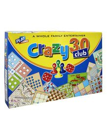Play Time Crazy 30 Club Board Game Multi-Color