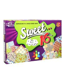 Play Time Sweet 16 Board Game Multi-Color