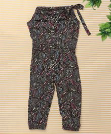 Bee Born Paisley Print Jumpsuit - Multicolour