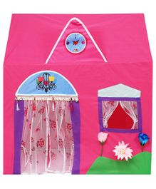 Playhood Queen Palace Play House With Curtains - Pink