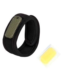 Safe-O-Kid Reusable Fabric Mosquito Repellent Band - Black