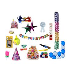 NHR Special Birthday Decoration Kit - 118 Pieces