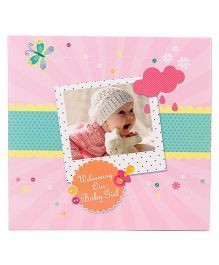 Archies Baby Record Book - Pink