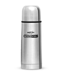 Milton Thermosteel Flask With Plain Lid Silver - 350 ml