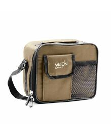 Milton Combi Meal Snacks Lunch Box Set With Bag - Beige