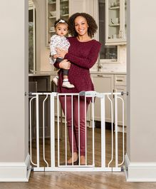 Regalo Easy Step Walk Through Baby Safety Gate