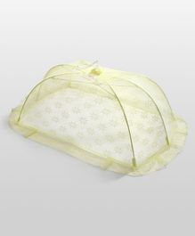 Babyhug Star Design Mosquito Net Large - Yellow
