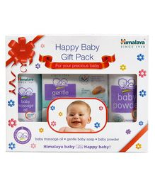 Himalaya Baby Care Gift Pack Oil Soap Powder
