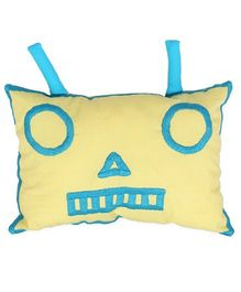 HouseThis The Fighter Robots Pure Cotton Cushion Cover - Multicolor