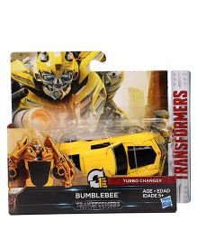 Transformers MV5 Turbo Changer Bumblebee Figure - Yellow
