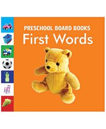 First Words Board Book - English