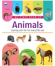My First Book Of Animals - English