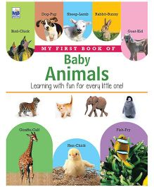 My First Book Of Baby Animals - English