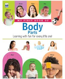 My First Book Of Body Parts - English