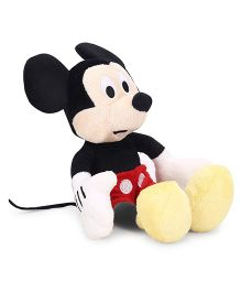 Starwalk Mickey Mouse Plush Soft Toy Black Red - 23 cm