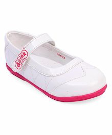 Doink Bellies With Velcro Closure - Pink White