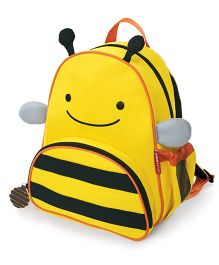 Skip Hop Zoo Little Kid and Toddler Backpack Brooklyn Bee Print Yellow - 11 Inches