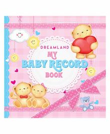 My Baby Record Book - English