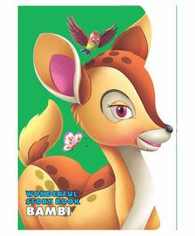 Wonderful Story Board Book Bambi - English