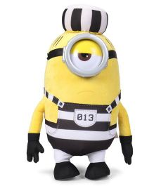 Minions Jail Mel Soft Toy Yellow - Height 41 cm