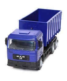 New-ray Diecast MAN F2000 Transporter Dump Truck - Blue