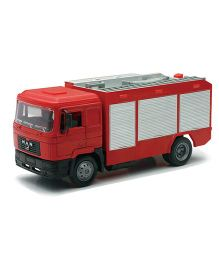 New Ray Man F2000 Transporter Fire Engine Vehicle - Red