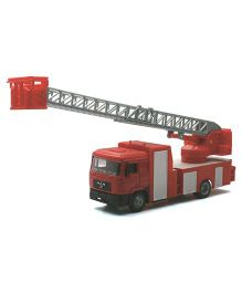 New Ray Man F2000 Transporter Fire Ladder Vehicle - Red