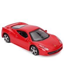 Bburago 458 Italia Ferrari Toy Car Race & Play  - Red