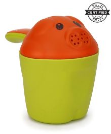 Babyhug Shampoo Rinse Cup - Green Orange