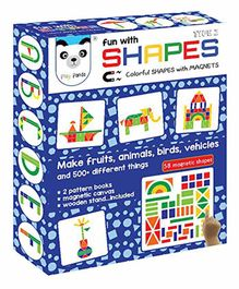 Play Panda Fun With Shapes Type 2  - Multi Color