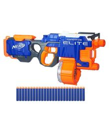 Nerf N-Strike Elite HyperFire Blaster Toy Gun - Blue Orange