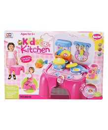 Sunny Kitchen Playset With Light & Music - Pink