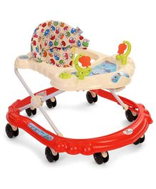 Sunbaby Butterfly Baby Walker - Red White