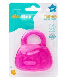 1st Step BPA Free  Water Filled Teether In Bag Design - Pink