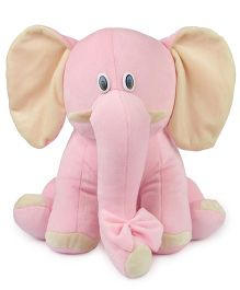 Deals India Elephant Soft Toy Pink - 25 Cm