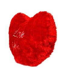 Deals India Valentine Jumbo Heart Cushion - Red