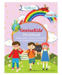 Genius Kids Workbooks For Class 3 Set Of 6 Books - English