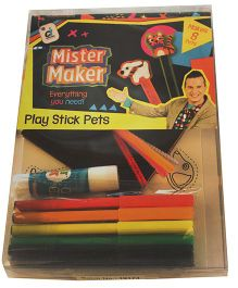 Mister Maker Play Stick Pets Kit - Multicolor