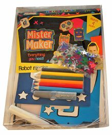 Mister Maker Robot Masks Kits - Multicolor