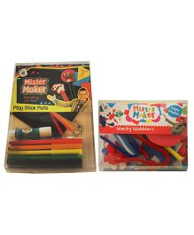Mister Maker Combo Play Stick Pets And Wacky Wobblers Kit - Multicolor